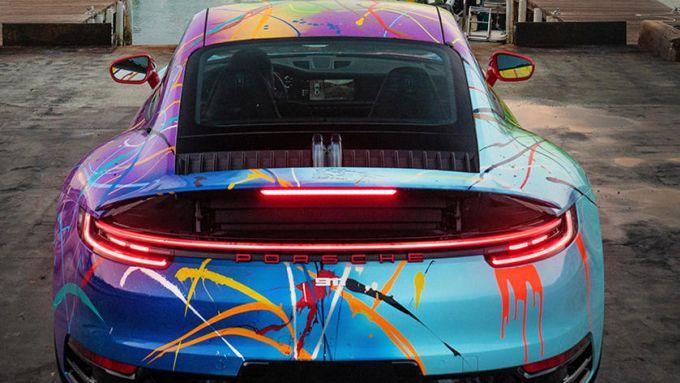 Porsche 911 by Rich B. Caliente: venduta come NFT in forma fisica e digitale
