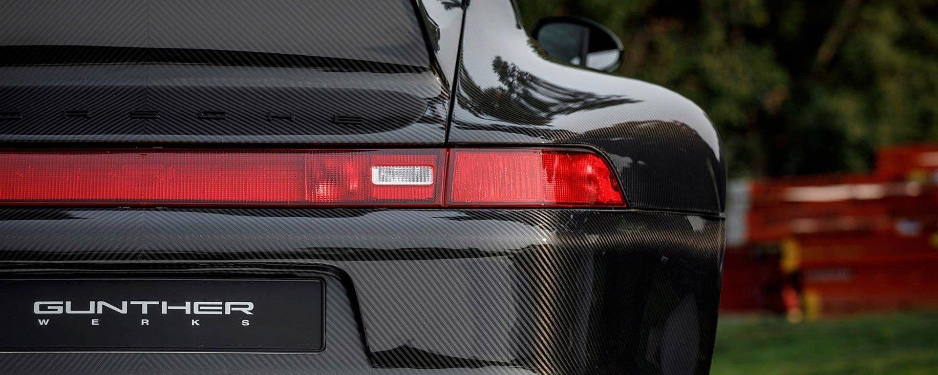 Una 911 in carbonio? Esiste, la realizza Gunther Werks