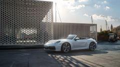 Porsche 911 Carrera 4 Cabriolet: vista 3/4 anteriore
