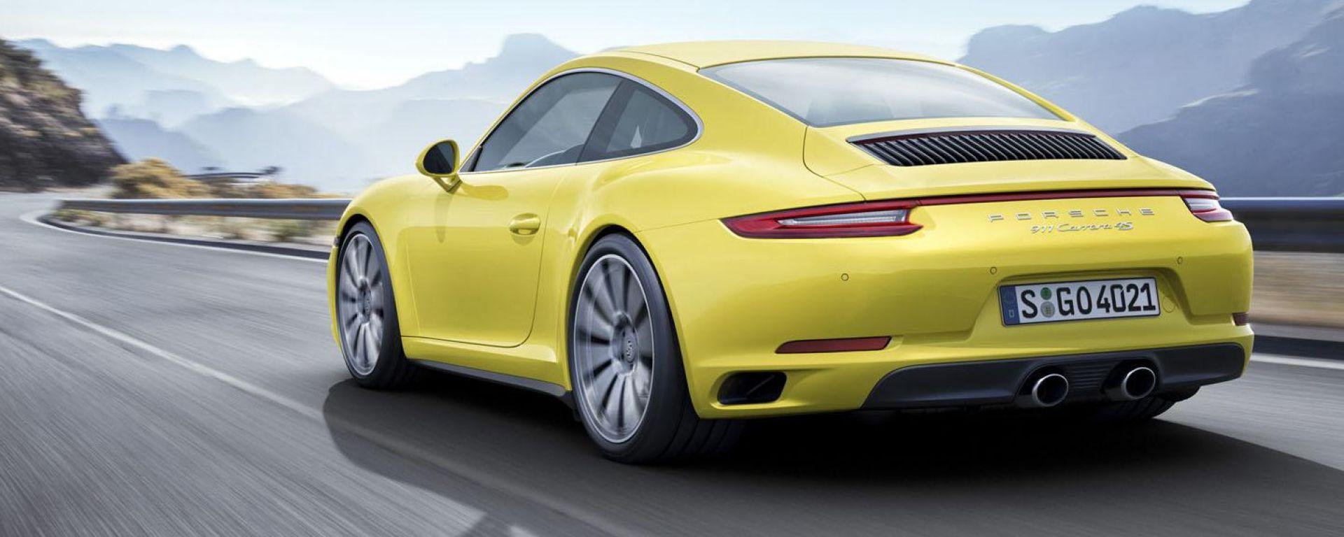Porsche 911 Carrera 4 e 4S 2016