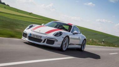 Porsche 911 Carrera 991: la 911 R su strada