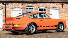Porsche 911 Carrera RS 2.7 (1973): vista di 3/4 posteriore