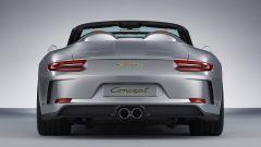Porsche 911 Speedster Concept: in video da Parigi 2018 - Immagine: 8