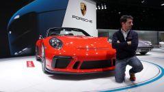 Porsche 911 Speedster Concept: in video da Parigi 2018 - Immagine: 1