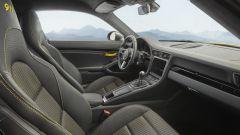 Porsche 911 Carrera T, l'abitacolo