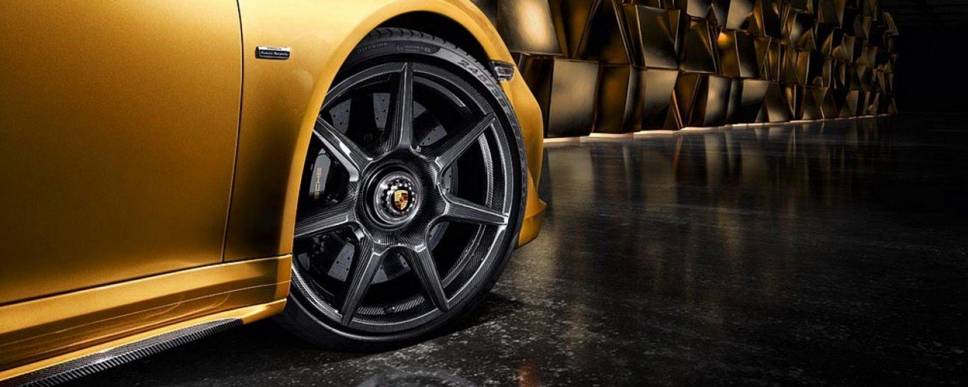 Porsche 911: arrivano i cerchi in fibra di carbonio