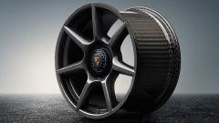 Porsche 911: arrivano i cerchi in fibra di carbonio - Immagine: 3