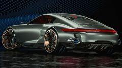 Porsche 911 del futuro by Paul Breshke: il posteriore è fedele all'attuale 911