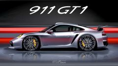 Porsche 911 GT1 Stradale: il rendering di Guillaume Leruge