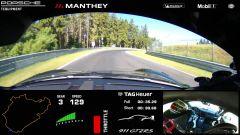 Porsche 911 GT2: il video onboard del record al Nurburgring