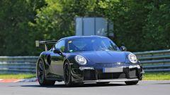 Porsche 911 GT2 RS 2018, il muletto