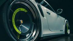 Porsche 911 GT2 RS by Kyza, dettaglio della gomma