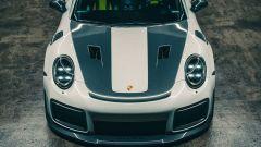 Porsche 911 GT2 RS by Kyza, il frontale visto dall'alto