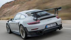 Porsche 911 GT2 RS: il posteriore