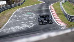 Porsche 911 GT2 RS: l'auto impegnata nel record