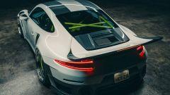 "Porsche 911 GT2 RS ""coda di balena"", il rendering by Kyza"