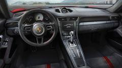 Porsche 911 GT3 2017, interni e posto guida