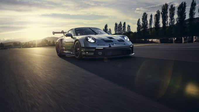 Porsche 911 GT3 Cup 2021: il frontale