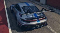 Porsche 911 GT3 Cup 2021: il posteriore