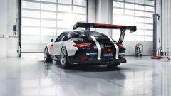 Porsche 911 GT3 Cup - l'imponente alettone posteriore largo 184 centimetri