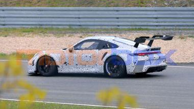Porsche 911 GT3 R: il posteriore