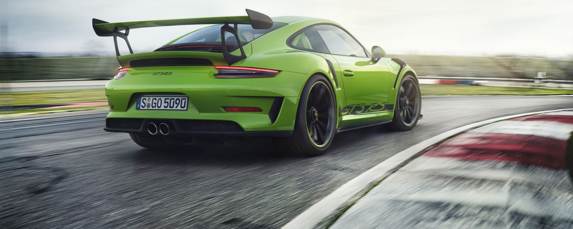 Porsche 911 GT3 RS 2018: Gira al Nurburgring in 6:56