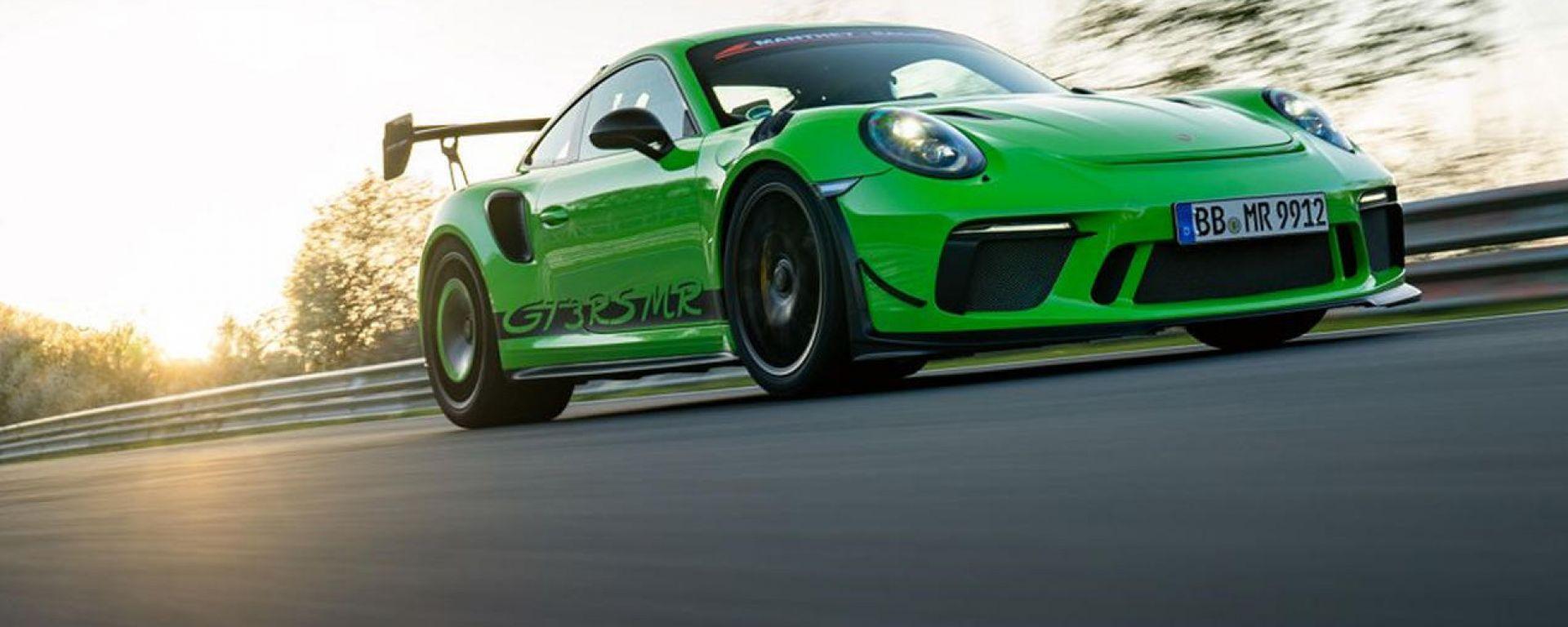 Porsche 911 GT3 RS MR al 'Ring