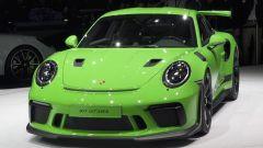 Porsche 911 GT3 RS, vista 3/4 anteriore