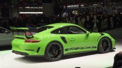 Porsche 911 GT3 RS, vista 3/4 posteriore