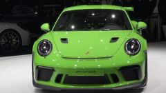 Porsche 911 GT3 RS, vista frontale