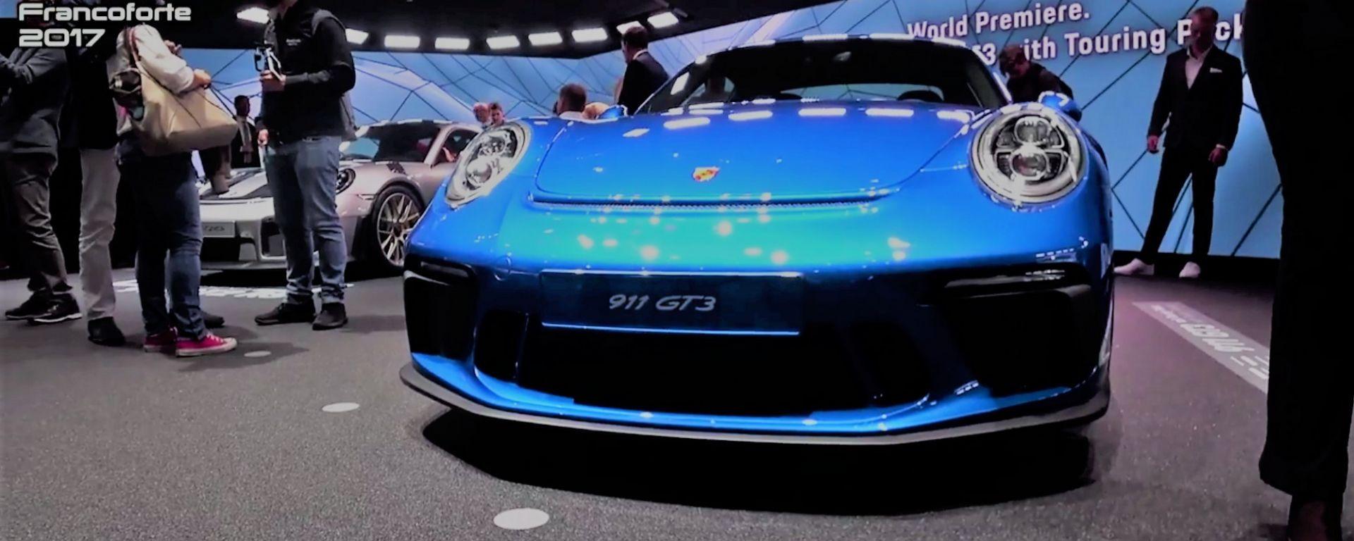 Porsche 911 GT3 Touring Package, la GT3 che non ostenta