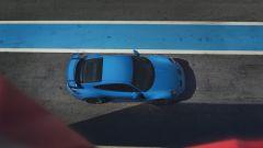 Porsche 911 GT3: visuale dall'alto