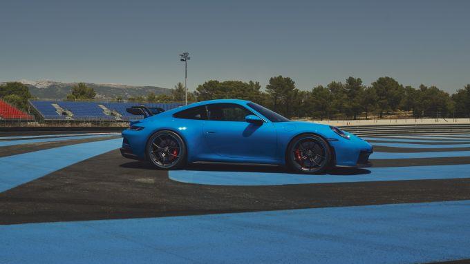 Porsche 911 GT3: visuale laterale
