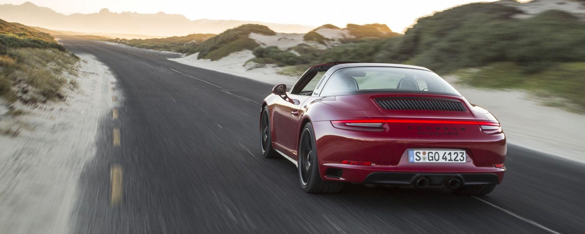 Porsche 911 GTS 2017: prova, dotazioni, prezzi [VIDEO]