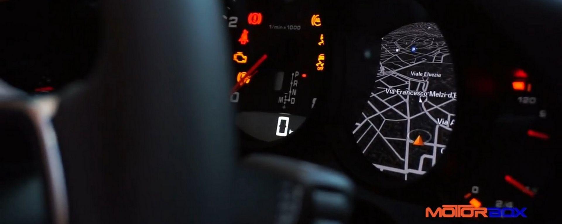 Porsche 911: la prova dell'infotainment