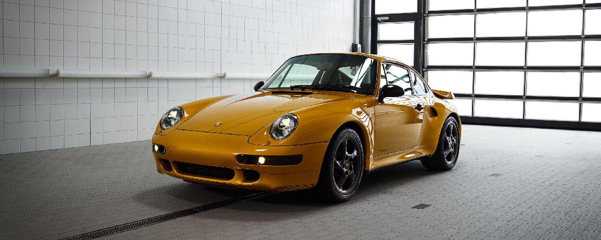 Porsche 911 Project Gold: non può circolare su strada, ecco perché