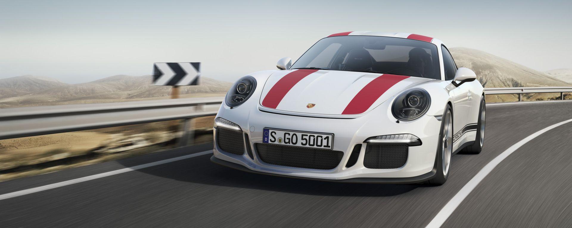 Porsche 911 R: l'apparenza inganna
