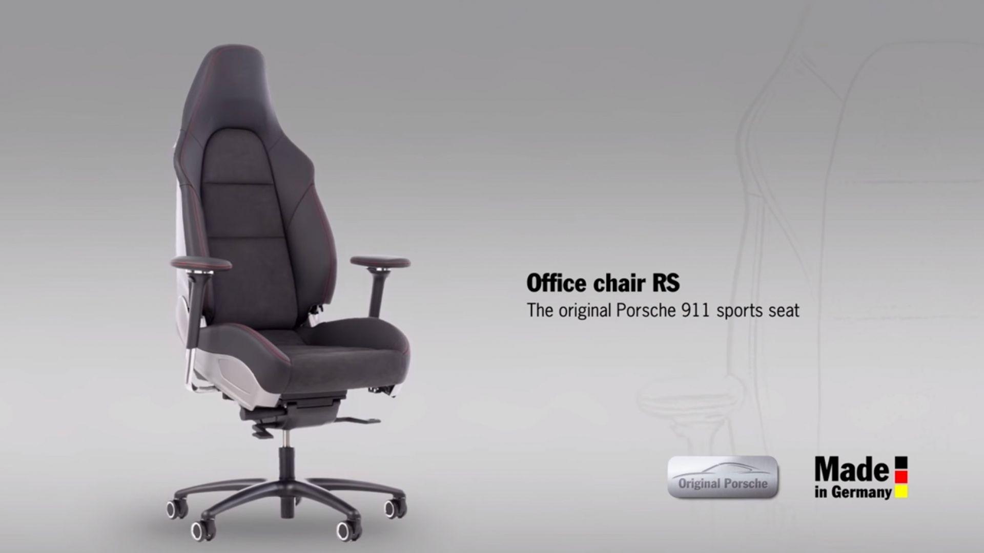 Sedie Ufficio Sportive : Curiosità in ufficio seduti su una porsche motorbox