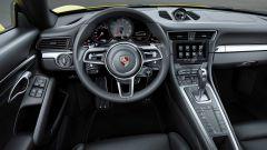 Porsche 911 Serie 991: l'abitacolo della 911 serie 991