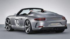 Porsche 911 Speedster Concept: la doppia gobba fa tanto vintage