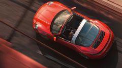 Porsche 911 Targa 4 2020 vista dall'alto