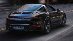 Porsche 911 Targa 4S 992 vista da dietro