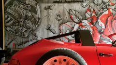 Porsche 911 Targa Danton: particolare del retrotreno