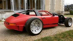 Porsche 911 Targa: il 3/4 posteriore