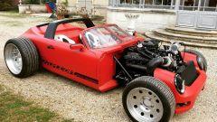 Porsche 911 Targa: la rivisitazione con motore anteriore di Alexandre Danton