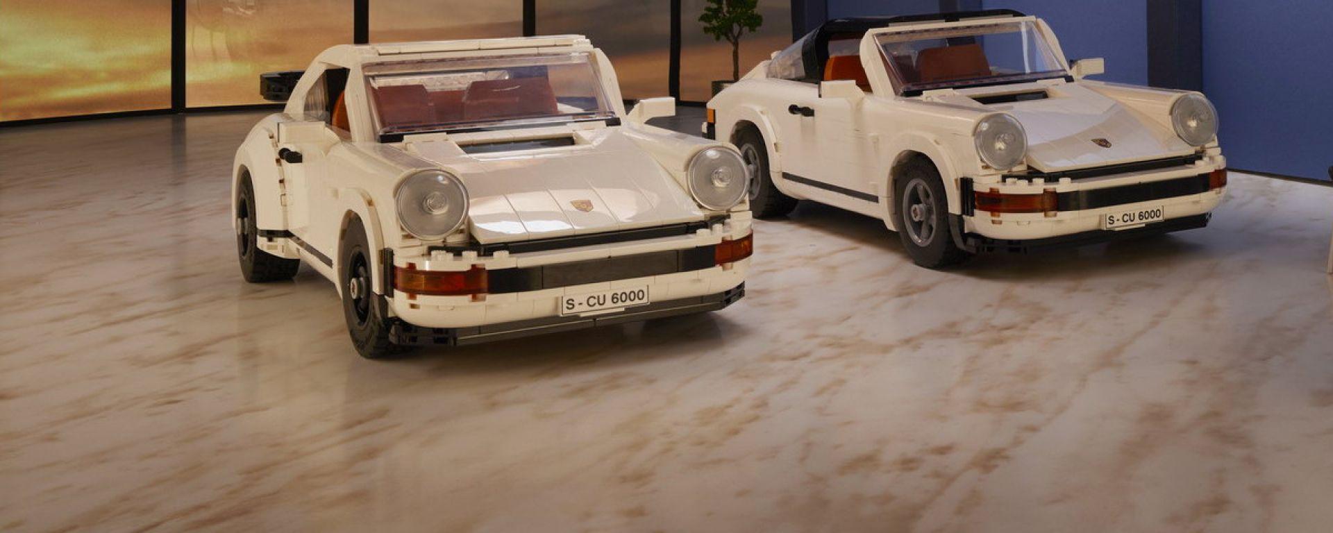Porsche 911 Turbo e 911 Targa by Lego