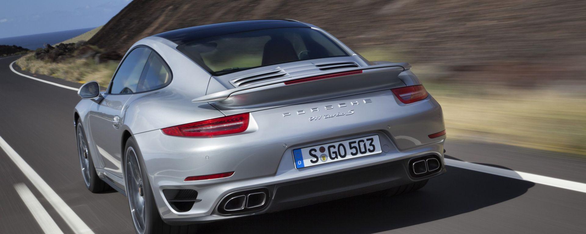 Porsche 911 Turbo e Turbo S 2013