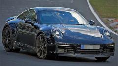 Porsche 911 Turbo in fase di test