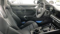 Porsche 911 Turbo S 2020: interni