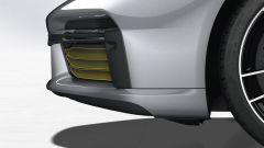 Porsche 911 Turbo S 2020, le prese d'aria chiuse per ridurre al massimo la resistenza